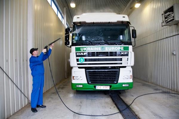 Мойка грузовиков TIR
