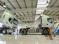 Станция технического обслуживания грузовиков